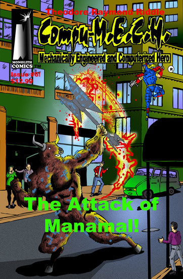 [Compu-MECH Issue #6 ] - The Attack of Manamal! - cover