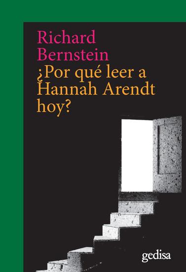 ¿Por qué leer a Hannah Arendt hoy? - cover