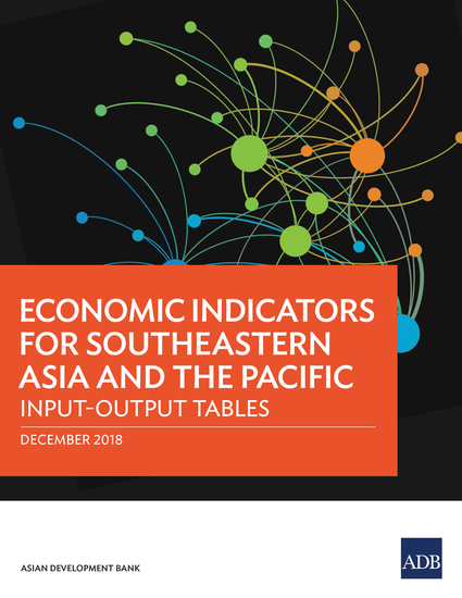 Economic Indicators for Southeastern Asia and the Pacific - Input–Output Tables - cover