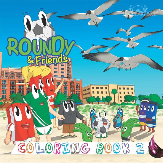 Roundy & Friends - Coloring Book 2 - cover