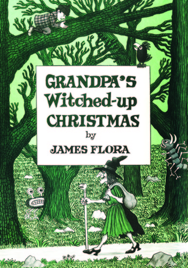 Grandpa's Witched Up Christmas - cover