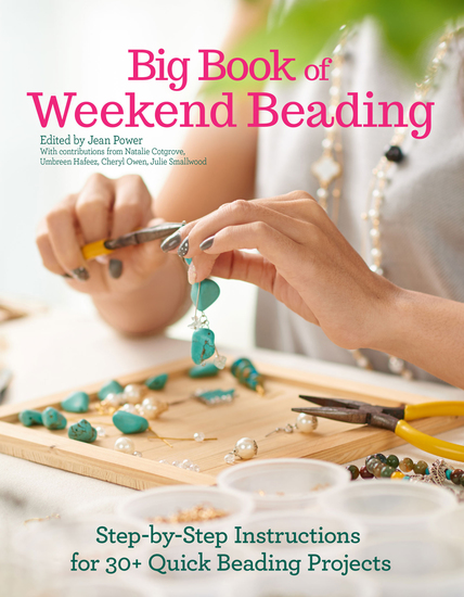 Big Book of Weekend Beading - Step-by-Step Instructions for 30+ Quick Beading Projects - cover