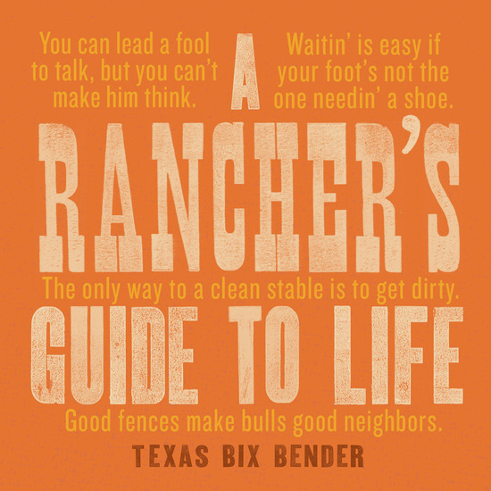 A Rancher's Guide to Life - cover