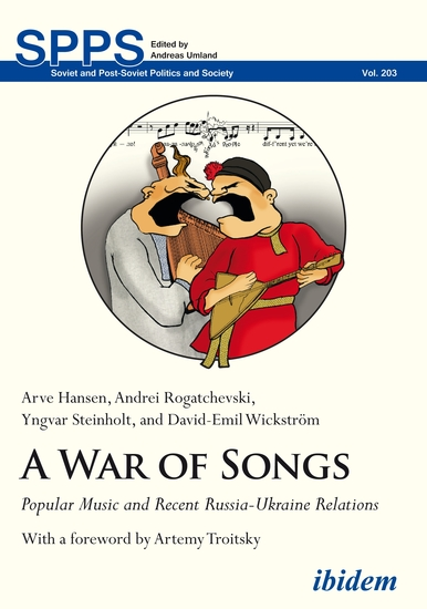 War of Songs - Popular Music and Recent Russia-Ukraine Relations - cover