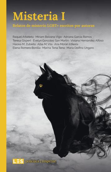 Misteria I - Relatos de misterio LGBT+ escritos por autoras - cover