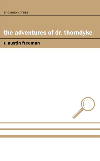 The Adventures of Dr Thorndyke - cover