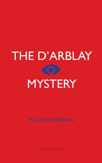 The D'arblay Mystery - cover