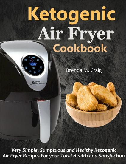 Ketogenic Air Fryer Cookbook - cover