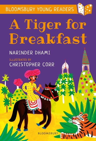 A Tiger for Breakfast: A Bloomsbury Young Reader - Turquoise Book Band - cover