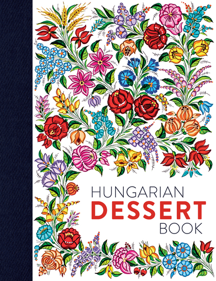 Hungarian Dessert Book - cover