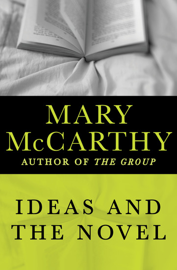 Ideas and the Novel - cover