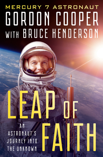Leap of Faith - An Astronaut's Journey Into the Unknown - cover