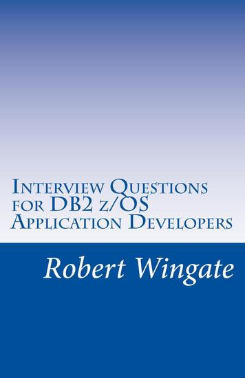 Interview Questions for DB2 z OS Application Developers - cover