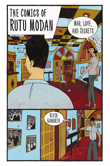 The Comics of Rutu Modan - War Love and Secrets - cover