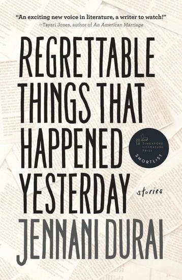 Regrettable Things That Happened Yesterday - cover