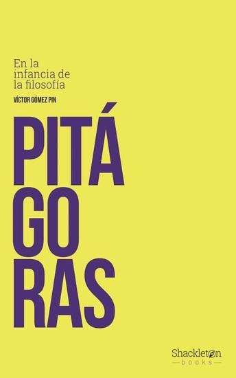 Pitágoras - En la infancia de la filosofía - cover