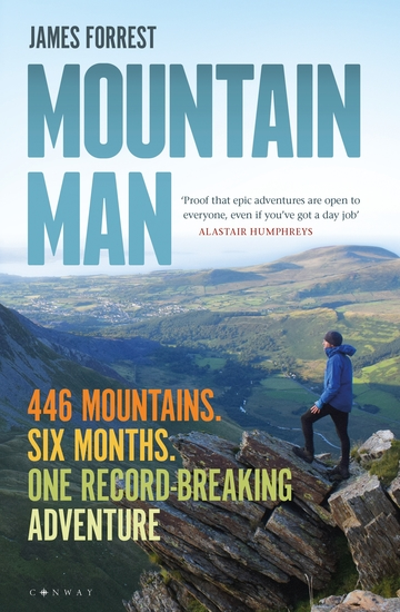 Mountain Man - 446 Mountains Six months One record-breaking adventure - cover