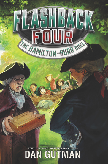 Flashback Four #4: The Hamilton-Burr Duel - cover