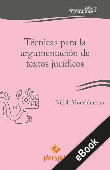 Técnicas para la argumentación de textos jurídicos - cover