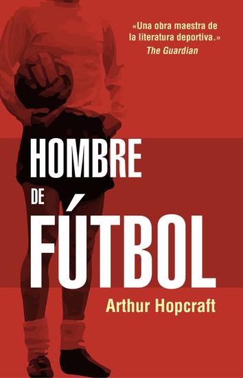 Hombre de fútbol - cover