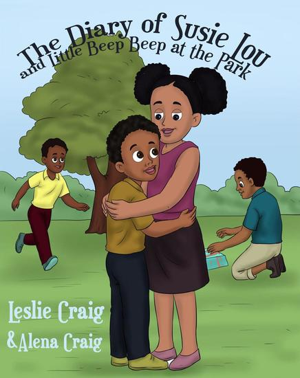 The Diary of Susie Lou and Little Beep Beep at the Park - cover