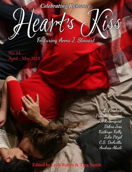 Heart's Kiss: Issue 14 April-May 2019: Featuring Anna J Stewart - Heart's Kiss #14 - cover