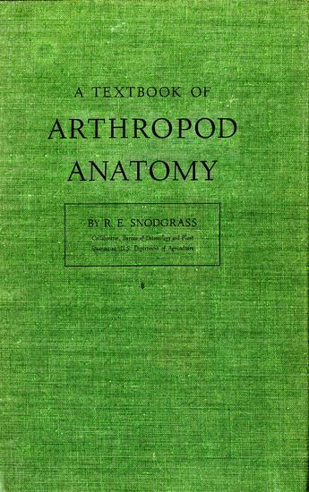Textbook of Arthropod Anatomy - cover