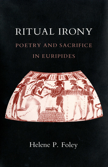 Ritual Irony - Poetry and Sacrifice in Euripides - cover