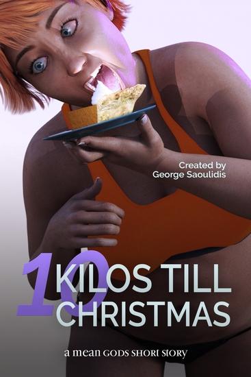 10 Kilos Till Christmas - A Mean Gods Short Story - cover