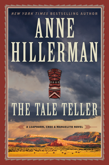 The Tale Teller - A Leaphorn Chee & Manuelito Novel - cover