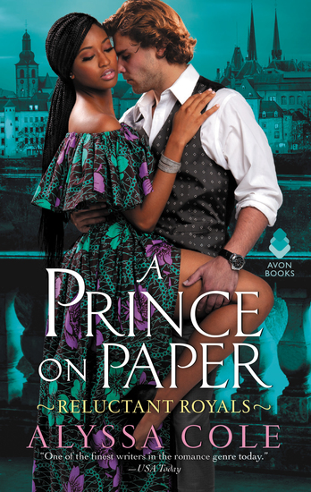 A Prince on Paper - Reluctant Royals - cover