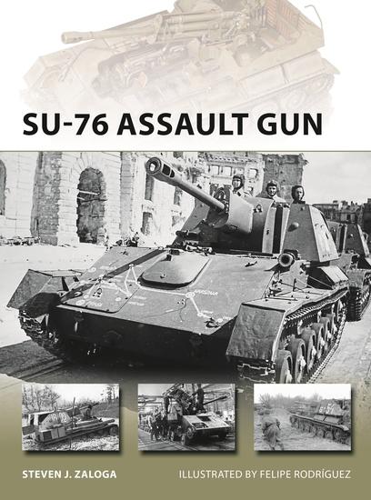 SU-76 Assault Gun - cover