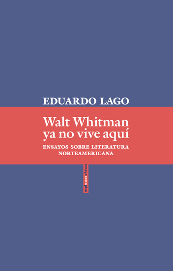 Walt Whitman ya no vive aquí - cover
