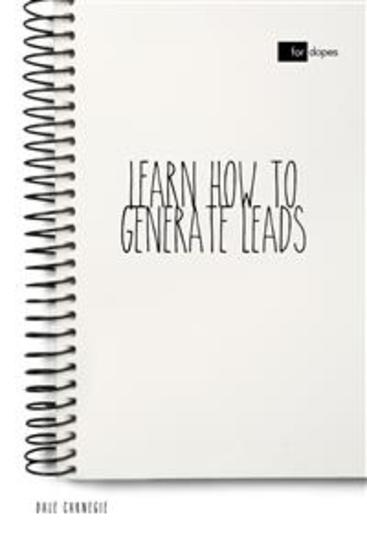 Learn How to Generate Leads - cover