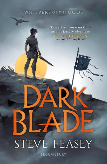 Dark Blade - Whispers of the Gods Book 1 - cover