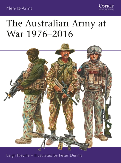 The Australian Army at War 1976–2016 - cover