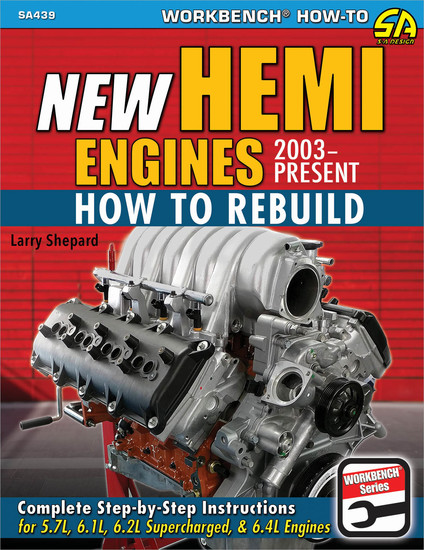 New Hemi Engines 2003-Present - How to Rebuild - cover