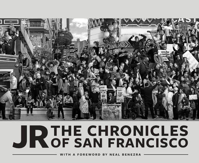 JR: The Chronicles of San Francisco - cover