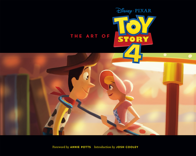 The Art of Toy Story 4 - cover