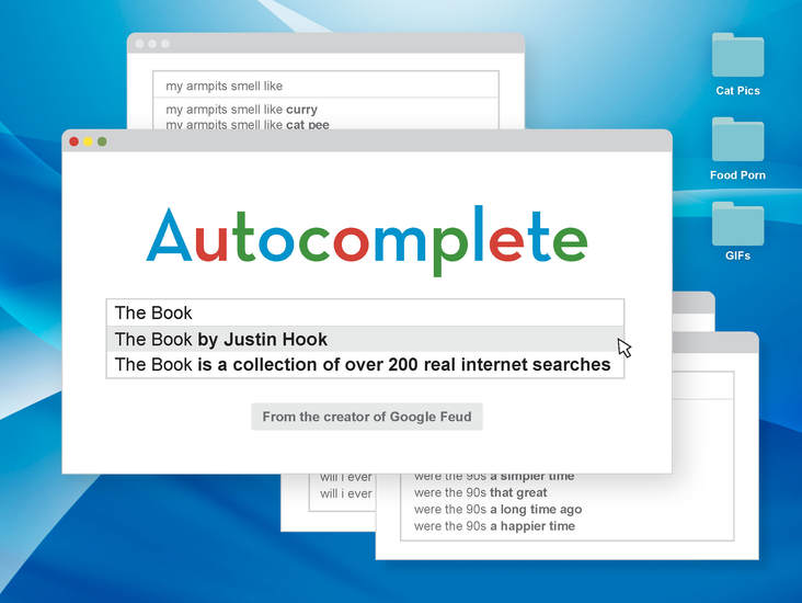 Autocomplete: The Book - cover