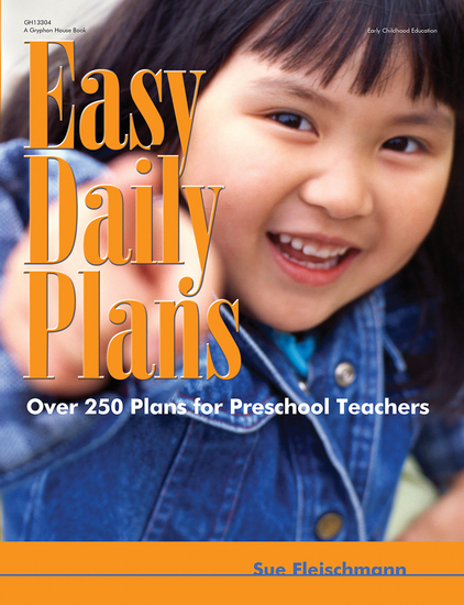 Easy Daily Plans - Over 250 Plans for Preschool Teachers - cover