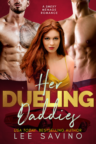 Her Dueling Daddies - A smexy menage romance - cover