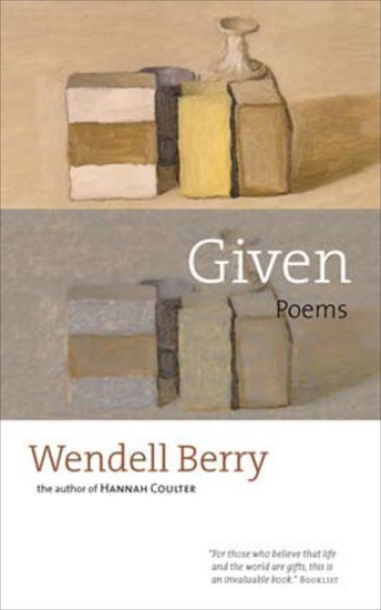 Given - Poems - cover