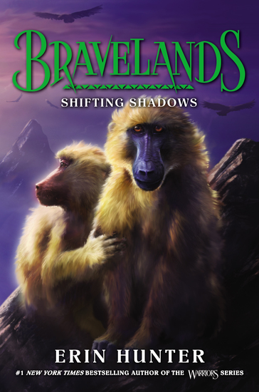 Bravelands #4: Shifting Shadows - cover