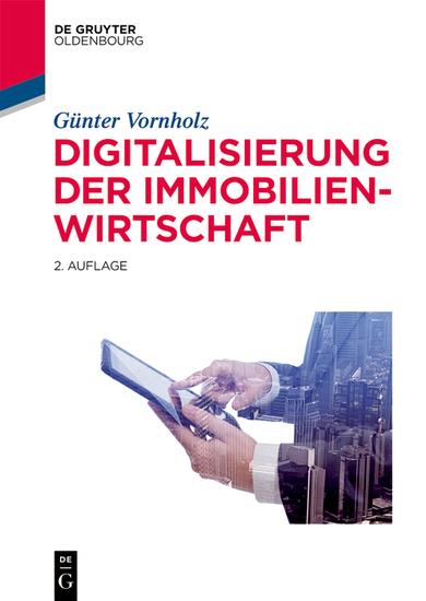 Digitalisierung der Immobilienwirtschaft - cover