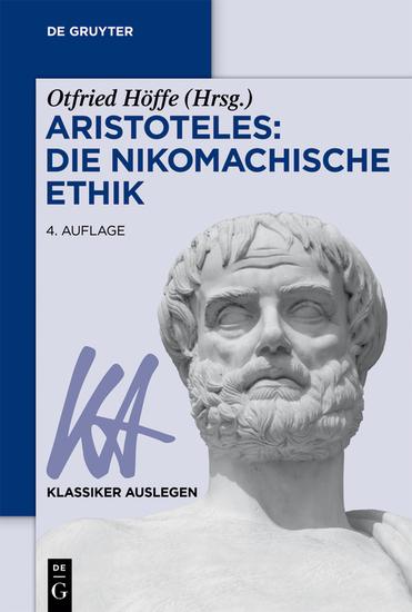 Aristoteles: Nikomachische Ethik - cover