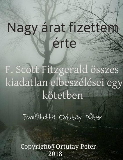Nagy árat fizettem érte - FScott Fitzgerald összes eddig kiadatlan elbeszélései egy kötetben - cover