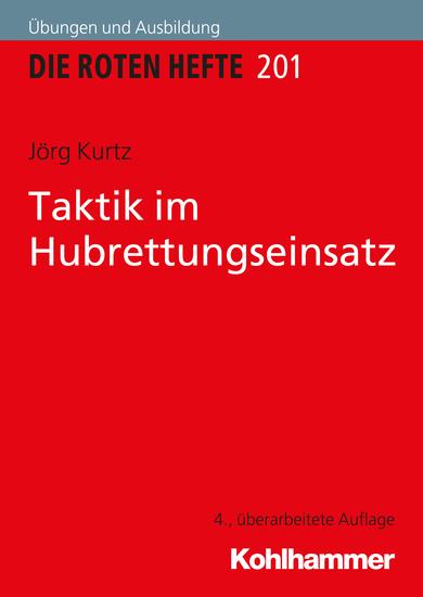 Taktik im Hubrettungseinsatz - cover