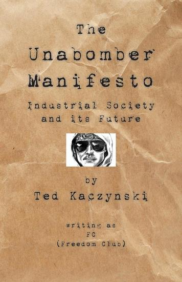 Unabomber Manifesto - Industrial Society and Its Future - cover