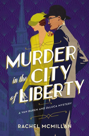 Murder in the City of Liberty - cover